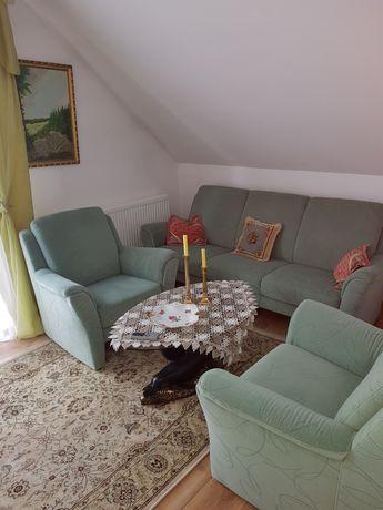 Kanapa +fotele stan Bardzo Dobry