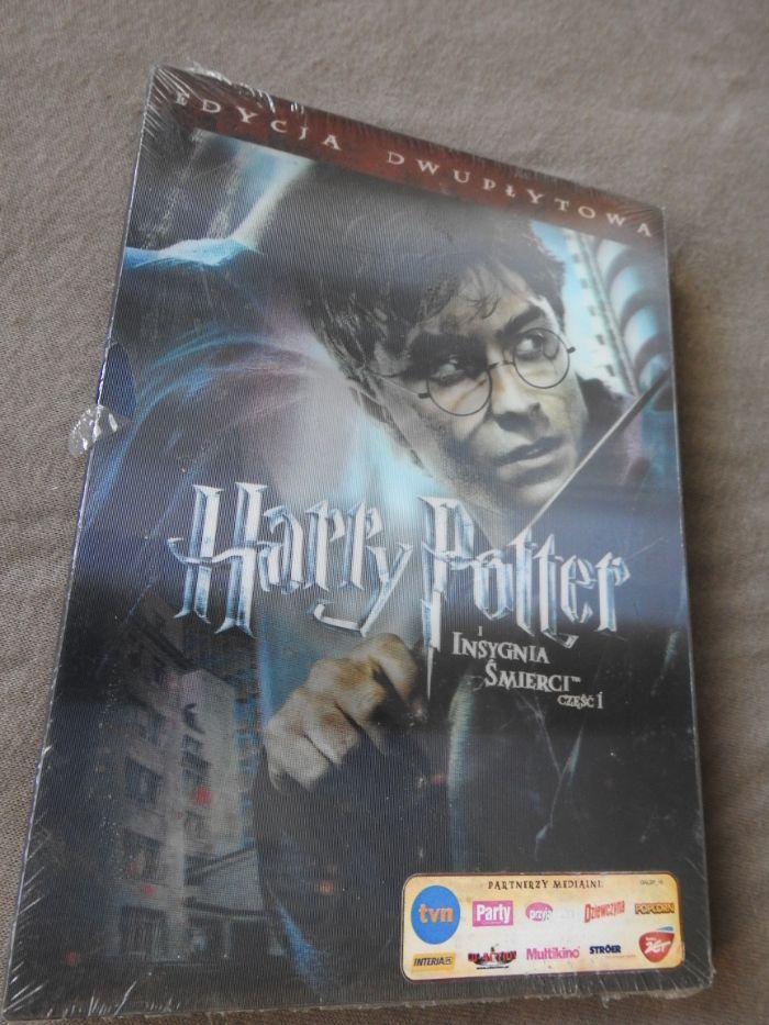 Harry Potter i Insygnia śmierci część 1 zafoliowana film wersja pl DVD Racibórz - image 1