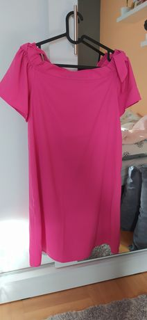 Różowa sukienka Orsay 36 38 hiszpanka
