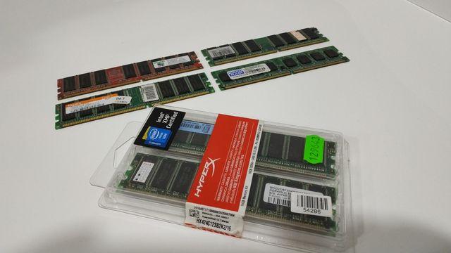 Оперативная память DDR/DDR2 (256/512mb)