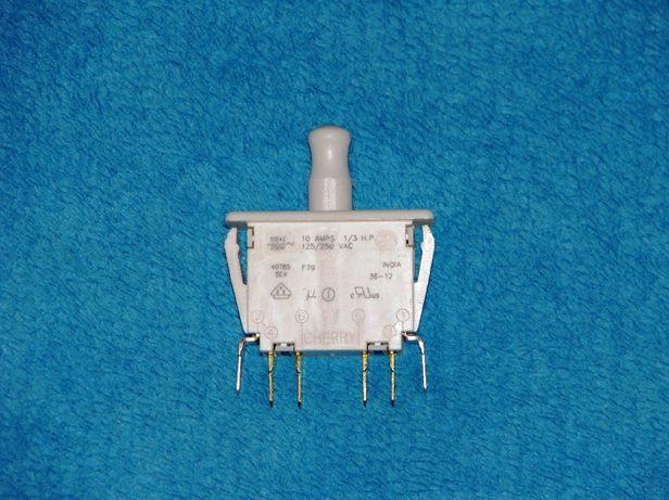 Przełącznik Cherry 40T85 5E4 F79 switch wyłącznik 10A 250V