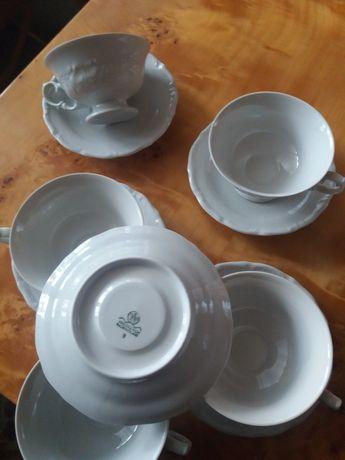 Filiżanki i spodki porcelana
