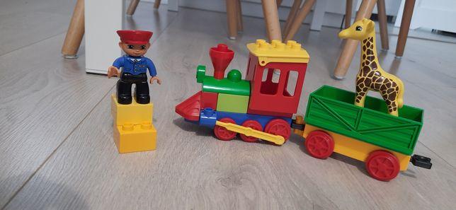 Lego duplo pociąg  w zoo 6144
