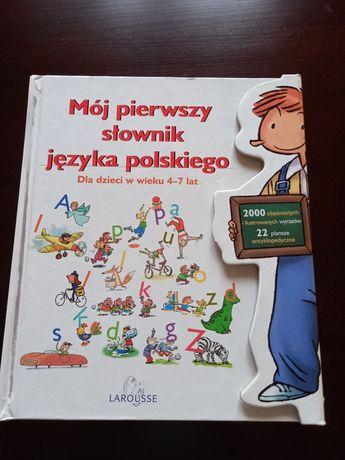 Mój  pierwszy słownik j. polskiego