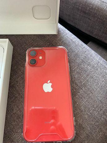 iPhone 12 mini Red 64 GB, 4 dias de uso , com fatura nós
