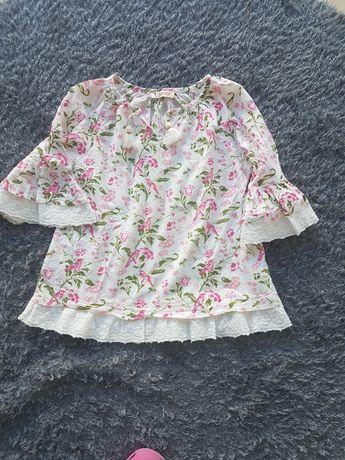 Blusa florida da Lanidor. 6 anos