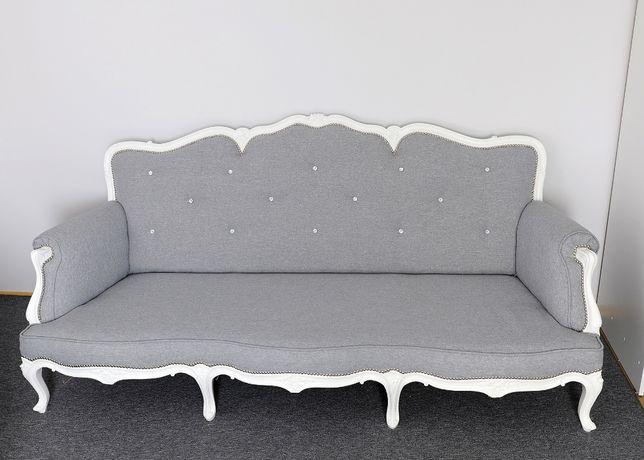 Sofa kanapa Ludwikowska w stylu ludwikowskim Przepiękna 3-osobowa