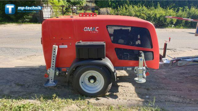 Wciągarka linowa do kabli, kablówka 5 ton OMAC UP50 z rejestratorem