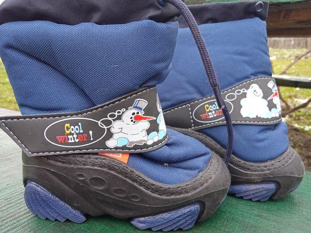 Чобітки/черевички зима на хлопчика