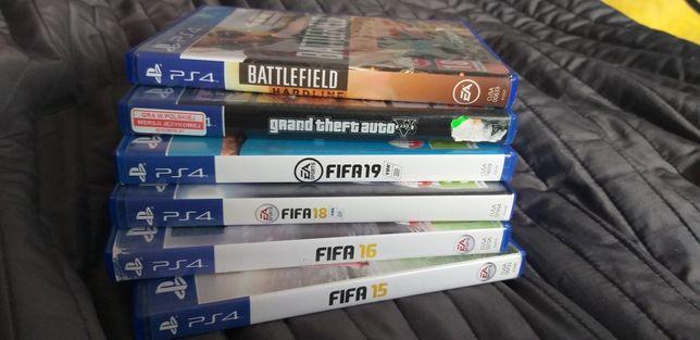 Płyty, gry Fifa GTA 5 Battlefield Hardline