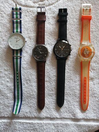 Relógios diversas Marcas GENEVE e outros (NOVOS)