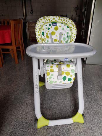 Cadeira de papa Polly Progress Chicco