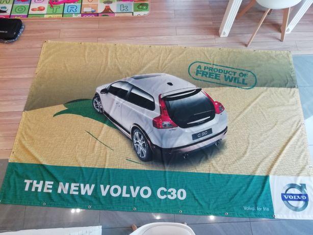 Wydruk, Nadruk, grafika, siatka mesh Volvo