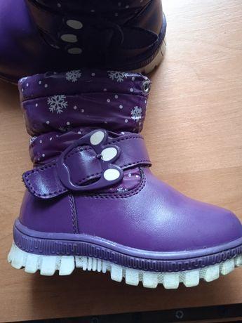 Сапожки зима для девочки