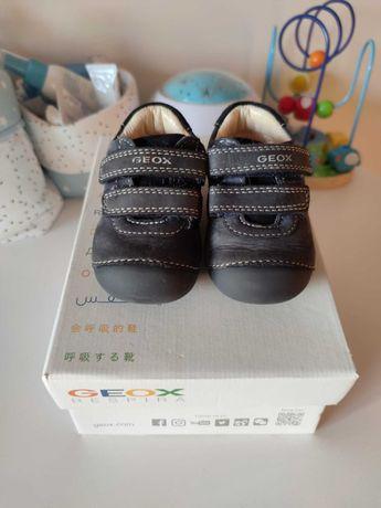 Vendo ténis/sapatos azuis Geox N.19