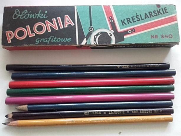 Pudełko Ołówki kopiowe kolorowe Pruszków