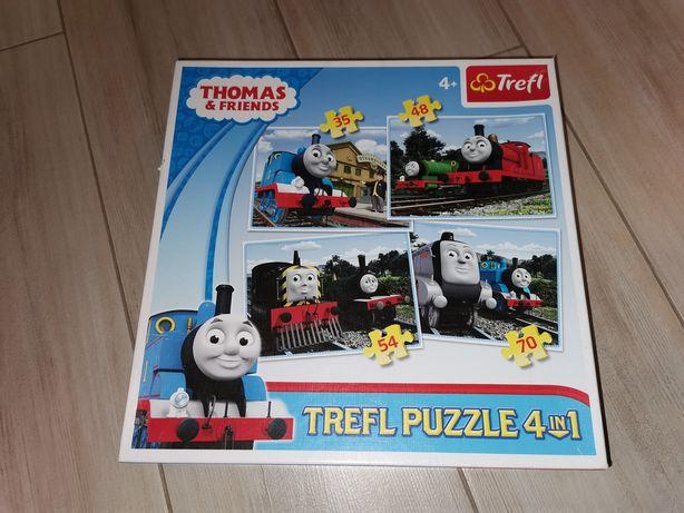 Puzzle Tomek i przyjaciele wiek 4 lata