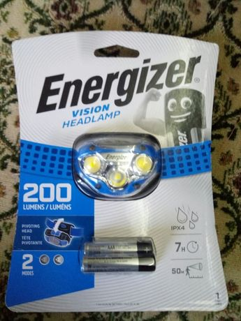 Оригинальный фонарик energezier
