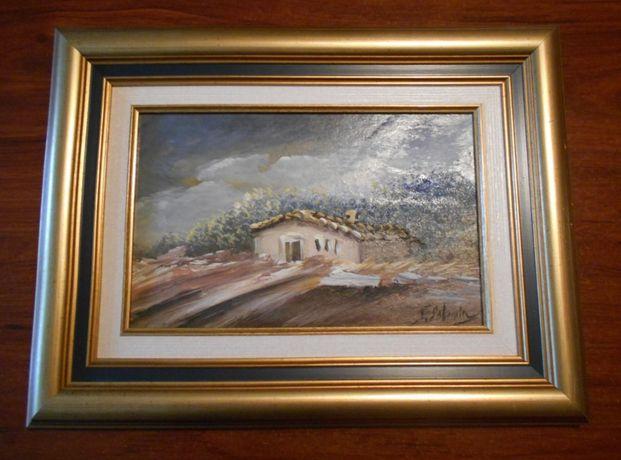 3 pinturas ORIGINAIS - pintor castelhano Fausto Palencia (já falecido)