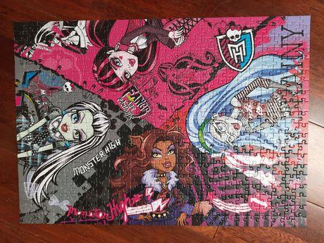 Puzzle trefl 500 elementów Monster High
