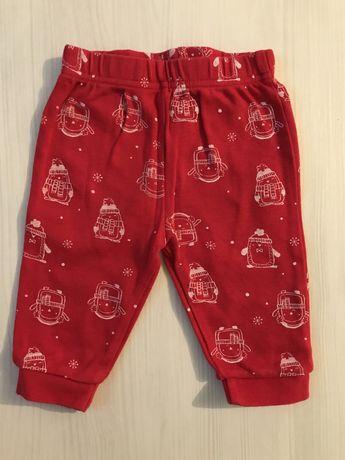 Штани 3-6 місяців, штанишки, новогодние штаны