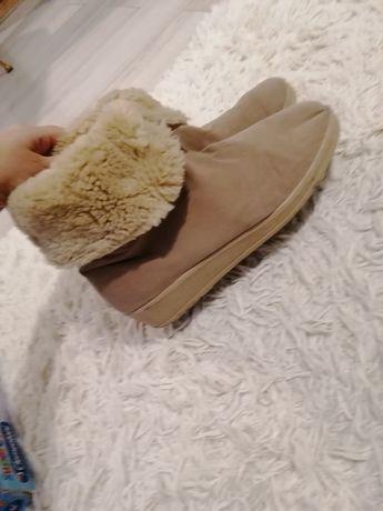 Buty śniegowce na zime, ciepłe roz 39