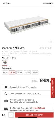 Materac BRW 120x200