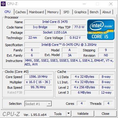 """Intel i5 3470(3.2-3.6) 4/465gb intel grafika monitor dell 19"""""""