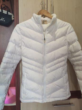 Куртка пух ASICS белая
