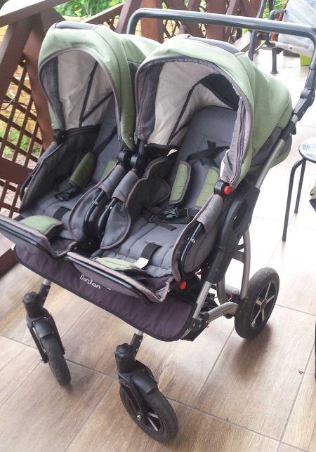 Wózek dla bliźniaków Dorjan Danny Sport 3w1 Super-okazja! 2 zestawy!