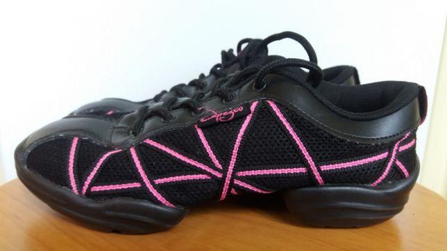 Capezio sneakersy buty do tańca wkładka 21 cm, rozm. 35,5