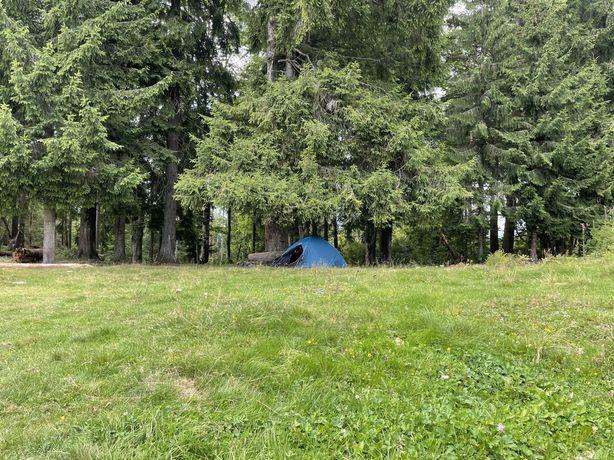 Палатка, 2-х місна. Два спальника, два карімати. Два сидіння.