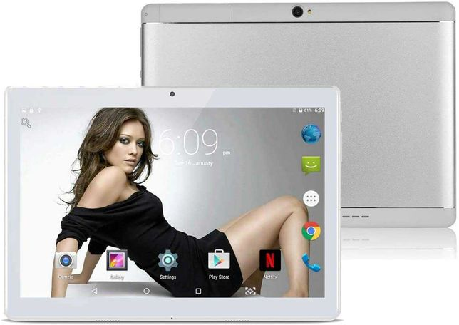 TYD-108 Sliver 10.1 3G планшет 2 сим карты 4/64гб Bluetooth, GPS, WIFI