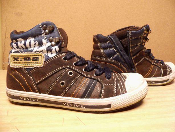 Buty chłopięce roz.35 jesień wyższe