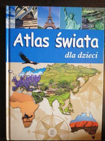 """Książka dla dzieci """" Atlas świata dla dzieci"""""""