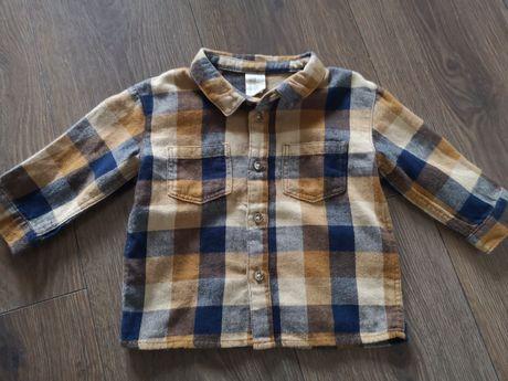 Koszula krata flanelowa h&m 68 nowa święta