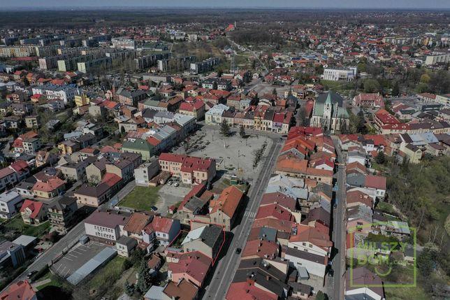 Brzesko   kamienica  działka 350 m2  centrum miasta