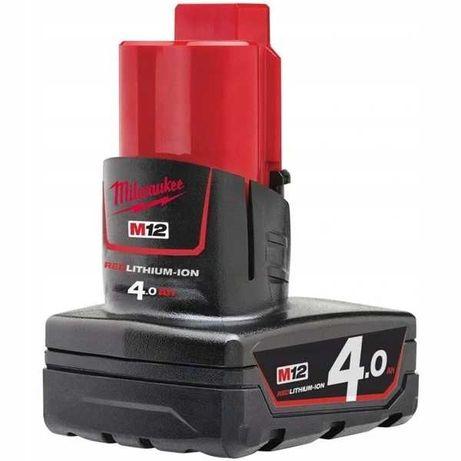 Akumulator bateria M12 B4 MILWAUKEE 12V 4.0Ah