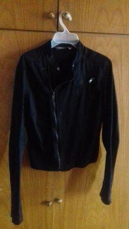 Тонкая чёрная куртка-косуха,курточка,пиджачек,пиджак Troll