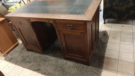 Stylowe biurko drewniane