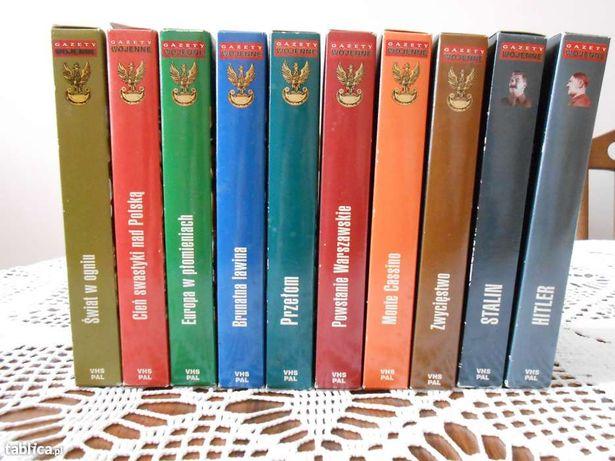 Encyklopedia II wojny światowej na kasetach VHS PAL