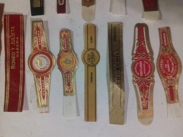 Этикетки наклейки лейба от сигар