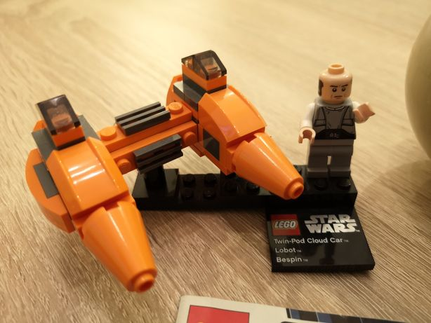 Lego Star Wars Wars Twin-Pod Cloud Car&Bespin 9678