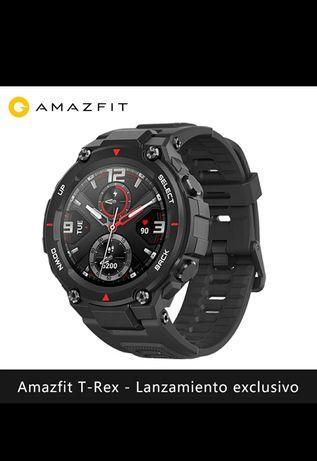 Relógio inteligente amazfit T-REX