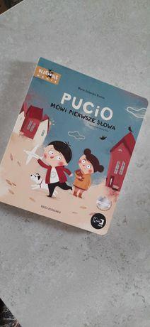 Książka Pucio Mówi pierwsze słowa. Nowa.