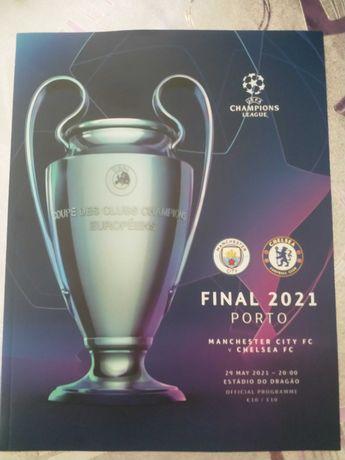 Champions League Final Official Programme Porto 2021