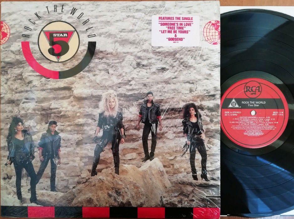 """Вінілова платівка """"Five star - Rock the world (RCA - 8531-1-R)"""" Ивано-Франковск - изображение 1"""