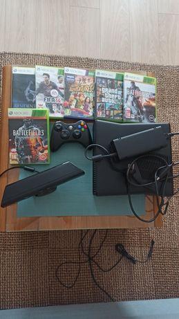 Sprzedam Xbox360 z kinectem i grami