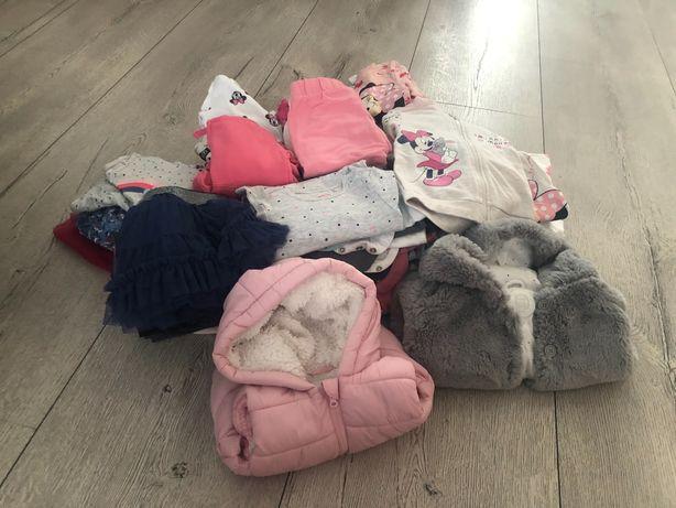 Ubranka dla dziewczynki rozmiar 74