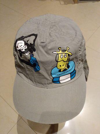 Kaszkiet czapka z daszkiem zwierzęta plaża wakacje H&M Nowa